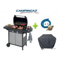 BARBECUE A GAS GPL 2 SERIES CLASSIC VARIO EXS CAMPINGAZ + KIT REGOLATORE E TELO