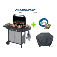 BARBECUE A GAS GPL 2 SERIES CLASSIC VARIO EXS CAMPINGAZ + KIT REGOLATORE + TELO