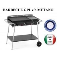 BARBECUE GRANADA ART.994 MULTIGAS GPL O METANO POTENZA 9 KW - MADE ITALY