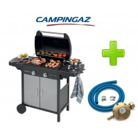BARBECUE PIASTRA A GAS 2 SERIES CLASSIC VARIO EXS CAMPINGAZ + KIT REGOLATORE