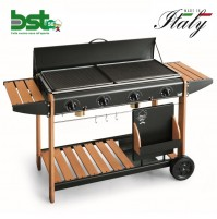 BARBECUE PIASTRA A GAS GPL VANCOUVER 2008 POTENZA 12,8 KW MADE IN ITALY - BST