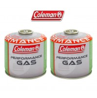 BOMBOLETTA CARTUCCIA GAS COLEMAN c300 performance FILETTO 240 g GAS * 2 PEZZi *