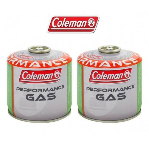 BOMBOLETTA CARTUCCIA GAS COLEMAN c300 performance FILETTO 240 g GAS * 2 PEZZi *