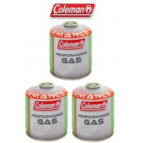 BOMBOLETTA CARTUCCIA GAS COLEMAN c300 performance FILETTO 240 g GAS * 3 PEZZI *