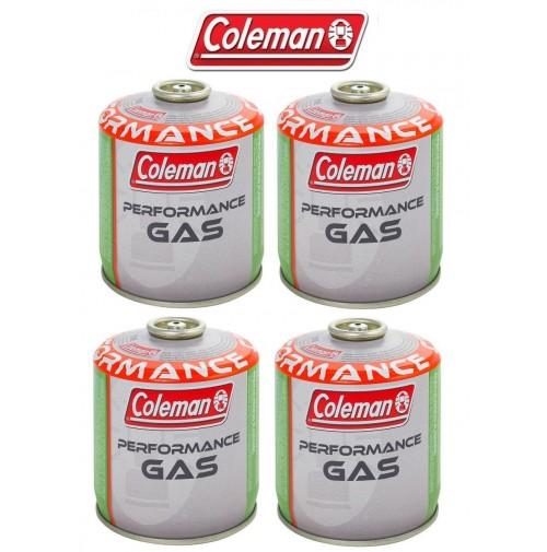 BOMBOLETTA CARTUCCIA GAS COLEMAN c300 performance FILETTO 240 g GAS * 4 PEZZI *