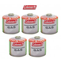 BOMBOLETTA CARTUCCIA GAS COLEMAN c300 performance FILETTO 240 g GAS * 5 PEZZI *