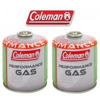 BOMBOLETTA CARTUCCIA GAS COLEMAN c500 performance FILETTO 440 g GAS * 2 PEZZI *