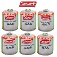 BOMBOLETTA CARTUCCIA GAS COLEMAN c500 performance FILETTO 440 g GAS * 6 PEZZI *