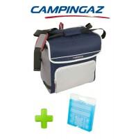BORSA TERMICA FOLD' N COOL 30 LITRI DARK BLUE CAMPINGAZ + 1 PEZZO FREEZ PACK M20
