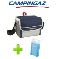BORSA TERMICA FOLD' N COOL 5 LITRI DARK BLUE CAMPINGAZ - INCLUSO FREEZ PACK M10