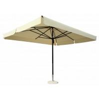 DOLOMITI ALLUMINIO ombrellone Acrilico 100% colorato/bianco