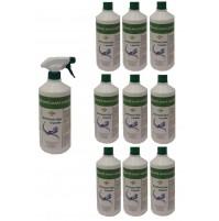 Detergente per mani spray elimina i batteri - 10 bottiglie + 1 erogatore Tigger