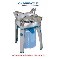 FORNELLO A GAS BIVOUAC ACCENSIONE ELETTRICA PER CAMPEGGIO CARTUCCE CAMPINGAZ