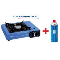 FORNELLO DA TAVOLO CAMP BISTRO IDEALE PER CAMPEGGIO CON 1 CARTUCCE GAS CAMPINGAZ