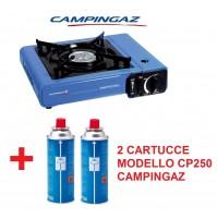 FORNELLO DA TAVOLO CAMP BISTRO IDEALE PER CAMPEGGIO CON 2 CARTUCCE GAS CAMPINGAZ