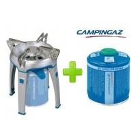 FORNELLO FORNELLINO A GAS BIVOUAC PZ CAMPINGAZ + 1 CARTUCCIA CV300 DA 240 GRAMMI