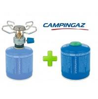 FORNELLO FORNELLINO A GAS BLEUET MICRO PLUS 1.230 W CAMPINGAZ + 1 PEZZO CV300