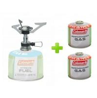 FORNELLO FORNELLINO A GAS STOVE FYRELITE COLEMAN - PESO 77 GR + 2 CARTUCCE A GAS