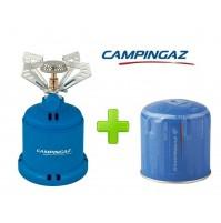 FORNELLO FORNELLINO GAS CAMPING STOVE 206 S 1230 W CAMPINGAZ + 1 CARTUCCIA C206