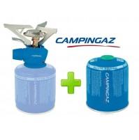 FORNELLO FORNELLINO GAS TWISTER PLUS 2900 W CAMPINGAZ + 1 PEZZI CARTUCCIA CV470