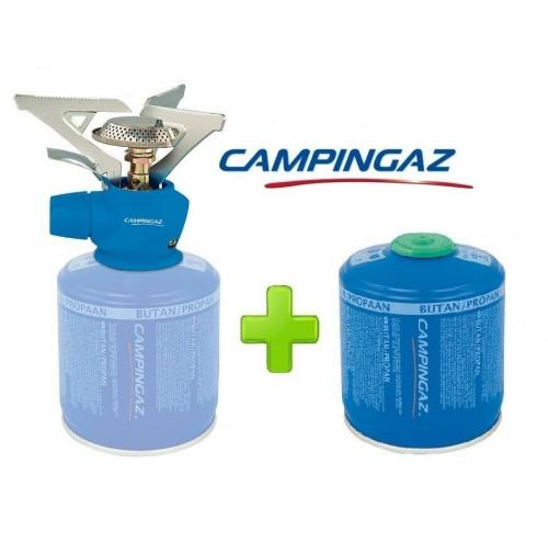 FORNELLO FORNELLINO GAS TWISTER PLUS 2900 W CAMPINGAZ + 1 PEZZO CARTUCCIA CV300