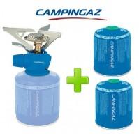 FORNELLO FORNELLINO GAS TWISTER PLUS 2900 W CAMPINGAZ + 2 PEZZI CARTUCCIA CV470