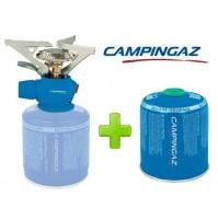 FORNELLO FORNELLINO GAS TWISTER PLUS PZ CAMPINGAZ + 1 PEZZO CARTUCCIA CV470