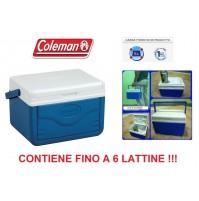 GHIACCIAIA PASSIVA FLIP 5 COLEMAN - CAPACITA 4,7 LITRI CONTIENE FINO A 6 LATTINE