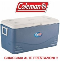GHIACCIAIA PASSIVA XTREME 100 BLU MARCHIO COLEMAN DA 90 L - ALTE PRESTAZIONI