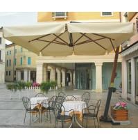 GIOVE LEGNO ombrellone Acrilico 100% colorato/bianco