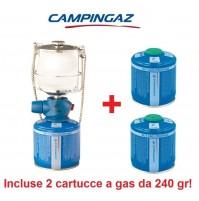 LAMPADA A GAS LUMOSTAR PLUS PZ CAMPINGAZ + 2 CARTUCCE A GAS DA 240 GR INCLUSE