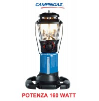 LAMPADA A GAS STELLIA CV PZ 160 WATT CAMPINGAZ - CARTUCCIA CV470 o CV300 -