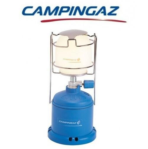 LAMPADA LANTERNA GAS LUMOGAZ PLUS CAMPINGAZ POTENZA 80 WATT - PESO 280 GRAMMI