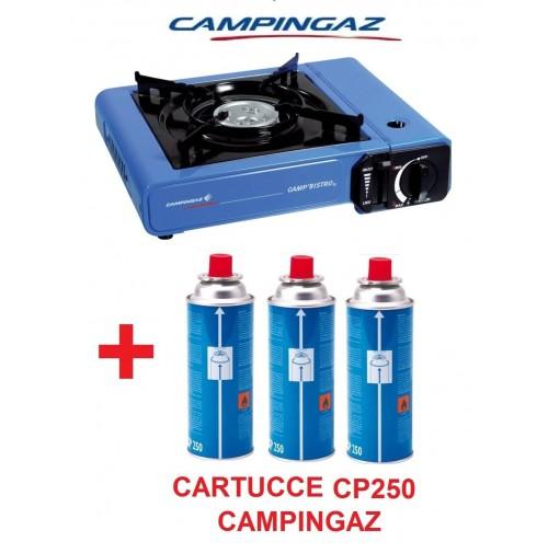 MARCA CAMPINGAZ Fornello da Campeggio a Gas con 3 Bomboletta Catering Portatile