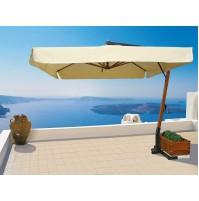 RIVIERA ombrellone Acrilico 100% colorato/bianco