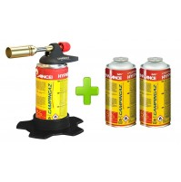 SALDATORE HYPERTORCH A1000 CAMPINGAZ WATT 2.240 + 3 CARTUCCE A GAS CG1750HY