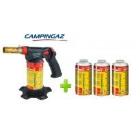 SALDATORE HYPERTORCH A2000 PZ CAMPINGAZ WATT 2.240 + 4 CARTUCCE  A GAS CG1750HY