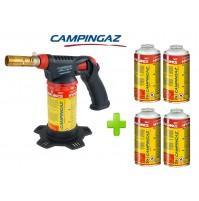 SALDATORE HYPERTORCH A2000 PZ CAMPINGAZ WATT 2.240 + 5 CARTUCCE  A GAS CG1750HY
