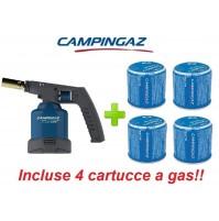 SALDATORE SOUDOGAZ X2000 CAMPINGAZ 1.650 W - FIAMMA REGOLABILE + 4 CARTUCCE GAS