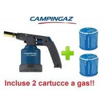 SALDATORE SOUDOGAZ X2000PZ NEW 2016 CAMPINGAZ PIEZO ELETTRICA + 2 CARTUCCE GAS