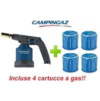 SALDATORE SOUDOGAZ X2000PZ NEW 2016 CAMPINGAZ PIEZO ELETTRICA + 4 CARTUCCE GAS
