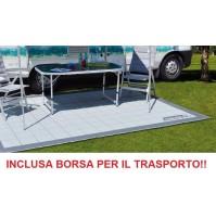TAPPETO PER VERANDA CAMPEGGIO MISURA 350x250 CM - TRAMA FITTA + BORSA TRASPORTO
