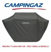 TELO COVER BARBECUE CAMPINGAZ X TUTTI MODELLI RBS CAMPINGAZ MISURA 171x62X106H