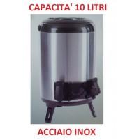 THERMOS BARILOTTO DISPENSER DA 10 LITRI ACCIAIO INOX CON EROGATORE E MANIGLIA