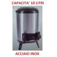 THERMOS BARILOTTO DISPENSER DA 10 LITRI ACCIAIO INOX CON EROGATORE / MANIGLIA