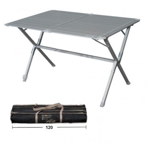 Tavolo Arrotolabile Campeggio E Outdoor.Tavolo Alluminio Campeggio Eureka 120x80x72h Piano Arrotolabile