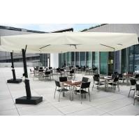 ECLISSE ombrellone Acrilico 100% colorato/bianco