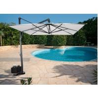 PITAGORA ombrellone Acrilico 100% colorato/bianco