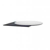 STRATIFICATO COMPACT 60x60 / Ø60  bianco grigio antracite