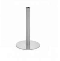 TIFFANY GLASS h. 73 basamento acciaio inox